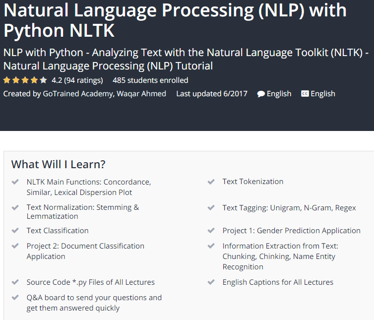 Natural Language Processing NLP with Python NLTK Udemy.png