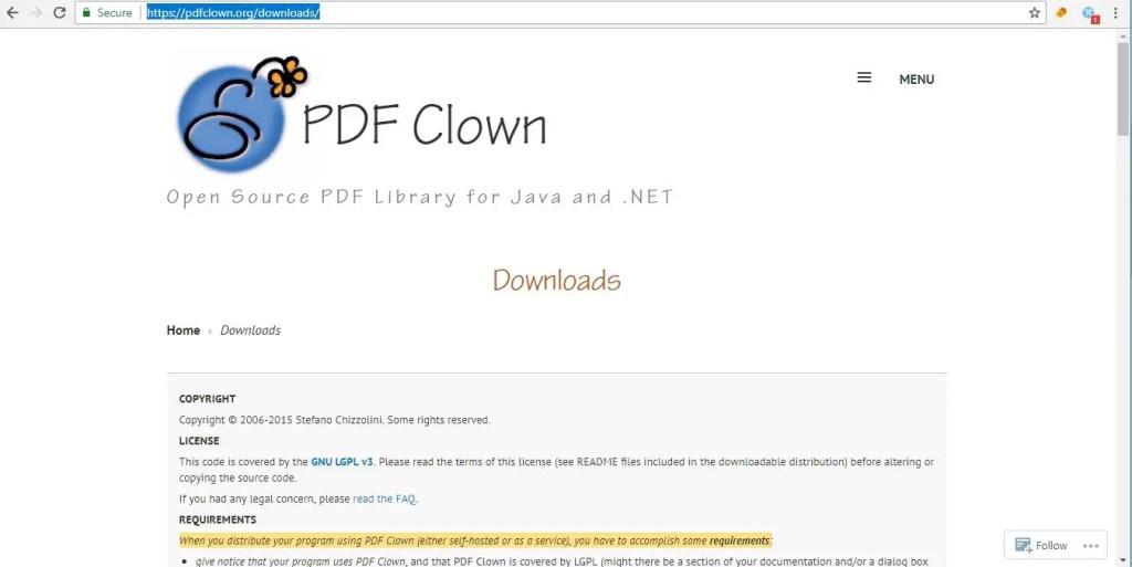 java PDF Libraries PDF Clown