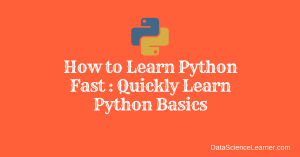 How to Learn Python Fast _ Quickly Learn Python Basics
