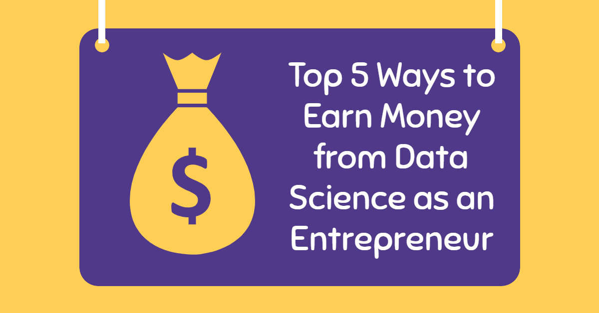 earn money from data science