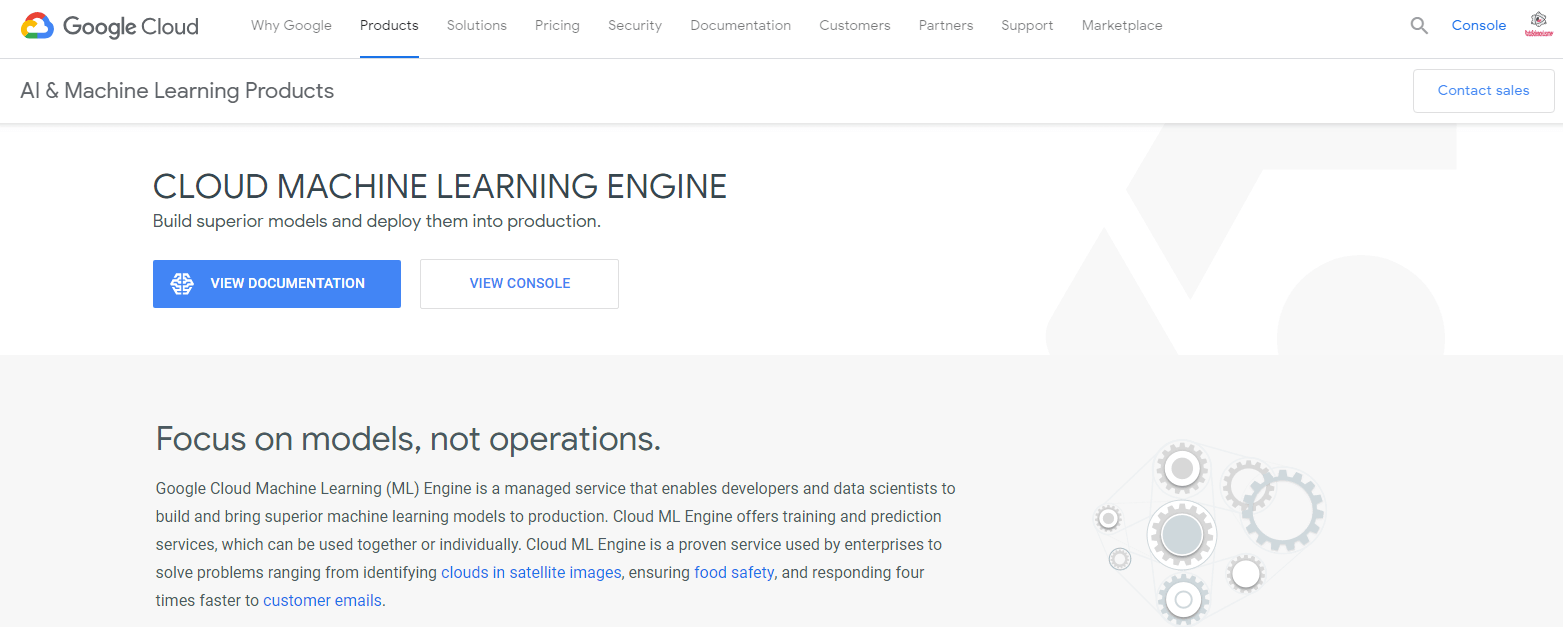 Cloud Machine Learning Google