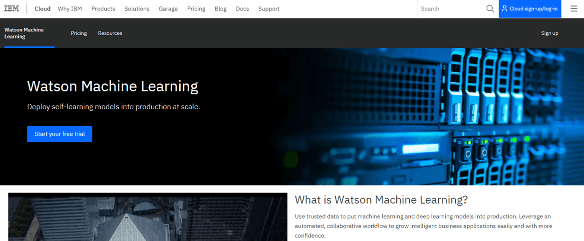 Watson Machine Learning