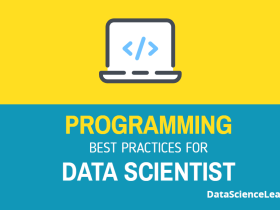 programming best practices for data scientist
