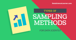 types of sampling method
