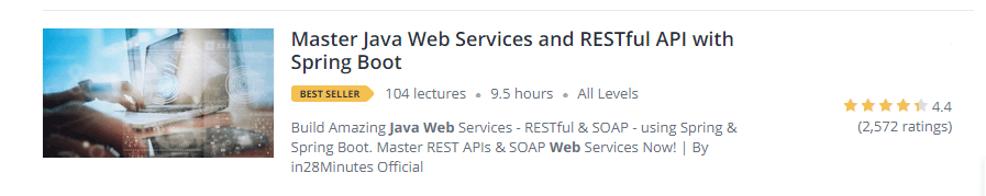 Master Java Web Services and RESTful API with Spring Boot