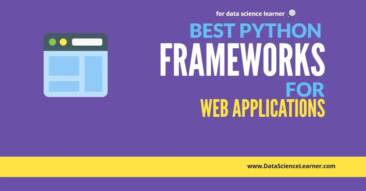 Best Python Framework for Web Applications