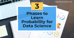 Phases to Learn Probability for Data Science