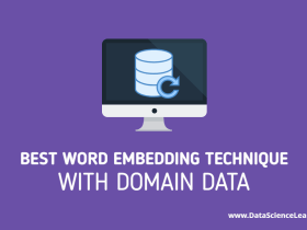 Best Word Embedding Technique with Domain Data