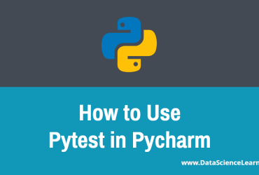 How to Use Pytest in Pycharm