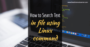 How to Search Text in file using Linux command