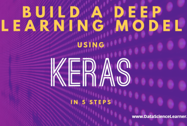 Keras Deep Learning Tutorial