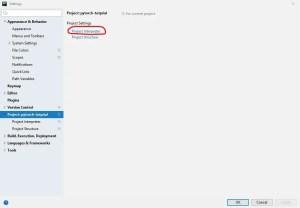 pytorch project interpreter window