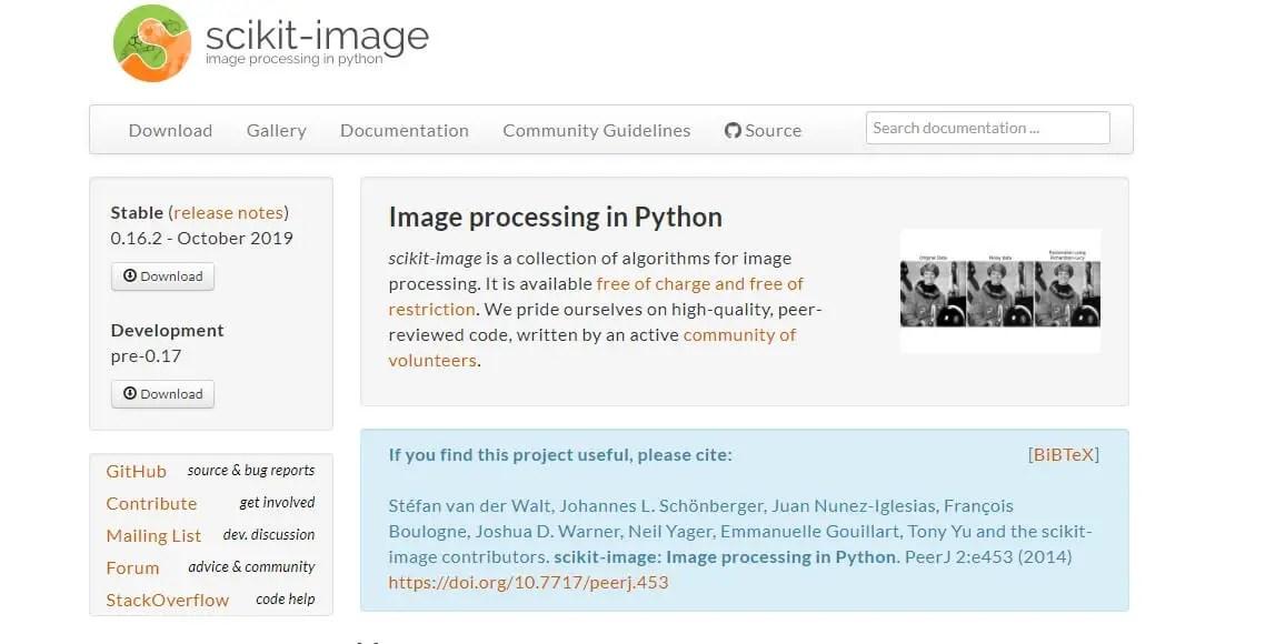 Scikit-image-python