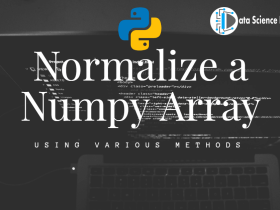 Normalize a Numpy Array featured image