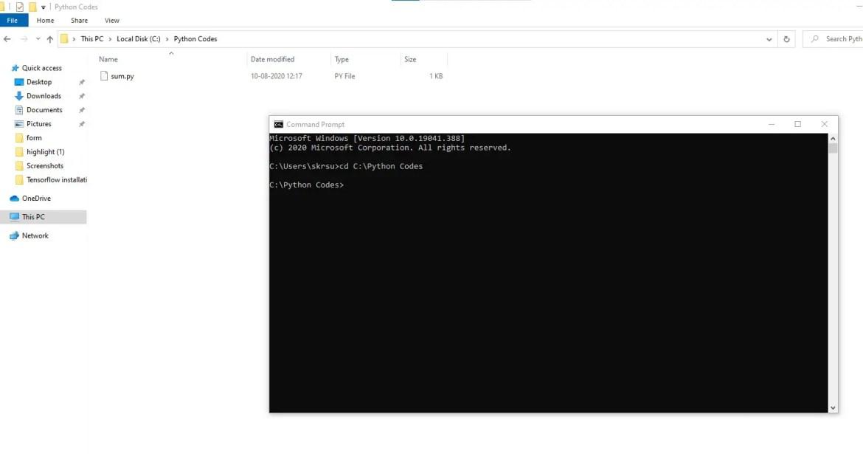 Python Script Directory