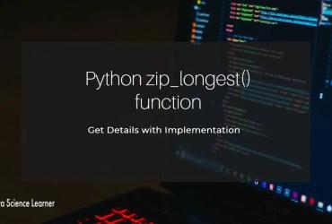 Python zip_longest() function featured image
