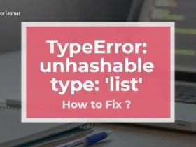 TypeError_ unhashable type_ 'list'