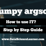 Numpy argsort tutorial featured image