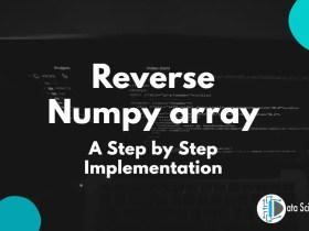 Reverse Numpy array featured image