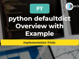 python defaultdict Overview with Example featured image