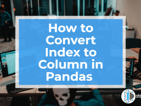 How to Convert Index to Column in Pandas