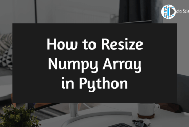 How to Resize Numpy Array in Python