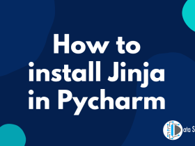 How to install Jinja in Pycharm