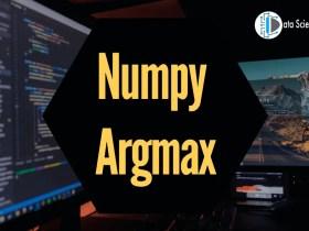 Numpy Argmax implementation