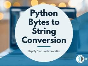 Python Bytes to String Conversion