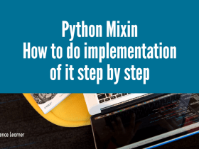 Python Mixin How to do implementation