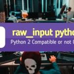 raw_input python 3 featured image