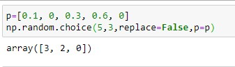 Generate a random Non-Uniform Sample with unique values in the range