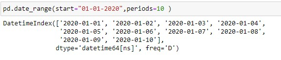Generating dates using start and periods argument