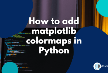 How to add matplotlib colormaps in Python