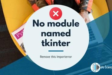 No module named tkinter