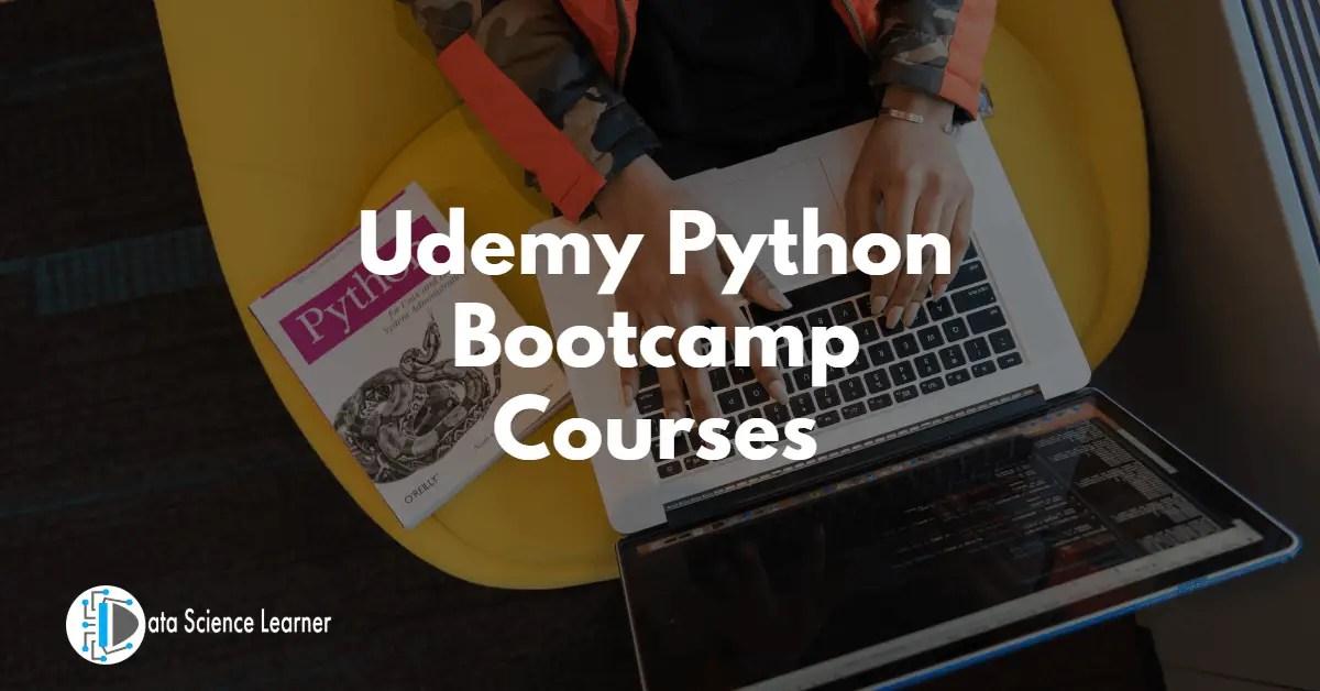 Udemy Python Bootcamp Courses