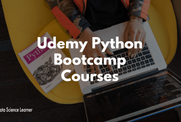 Udemy Python Bootcamp Courses