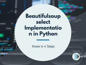 Beautifulsoup select Implementation in Python