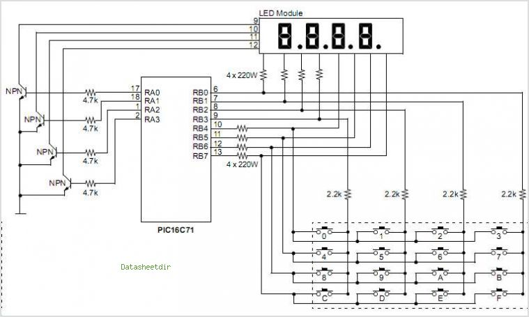 Pin Digital Counter Circuit 0 To 99 on Pinterest