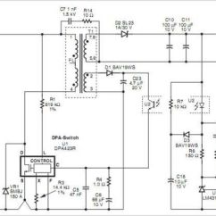 20w Led Driver Circuit Diagram 5 Pin Relay Wiring Headlights Flyback Transformer Schematic Power ~ Elsavadorla