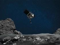 on space asteroid Bennu ,NASA's Osiris-Rex spacecraft lands