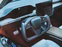 Elon Musk says ,In Tesla Model S steering yoke is compulsory