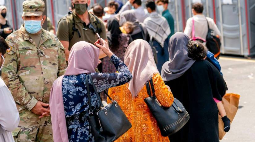 Afghan Evacuees Getting Shots At The Mass Vaccine Site In The US; As Some Delta Hotspots Peak, Others Emerge