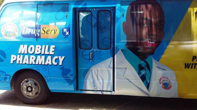 Innovative Businessman Sets Up Mobile Pharmacy