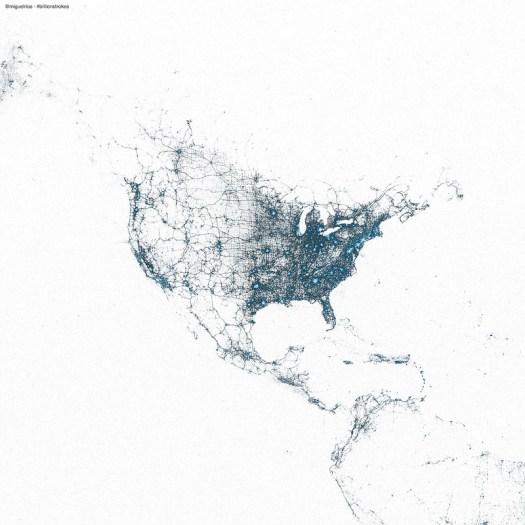 US by tweets,  by Miguel Rios @miguelrios
