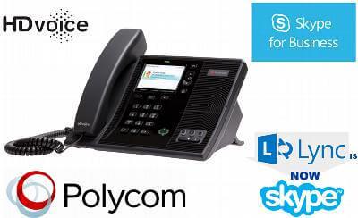 polycom skype phone dubai Lync / Skype for Business Phone