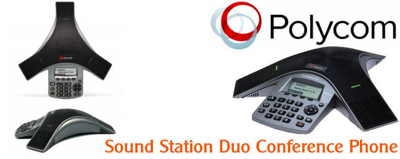 POLYCOM SOUNDSTATION DUO CONFERENCE PHONE DUBAI Polycom SoundStation Duo Dubai