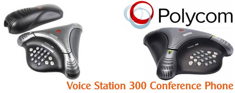POLYCOM VOICE STATION 300 CONFERENCE PHONE DUBAI Polycom Voicestation 300 Dubai