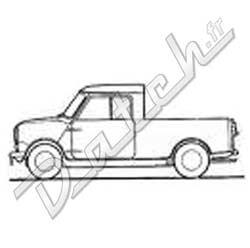Pièces détachées Austin Mini: TRANSPORT PARE-BRISE/LUNETTE