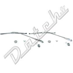Pièces détachées Austin Mini: KIT ESSUIE-GLACE MINI (ARRET